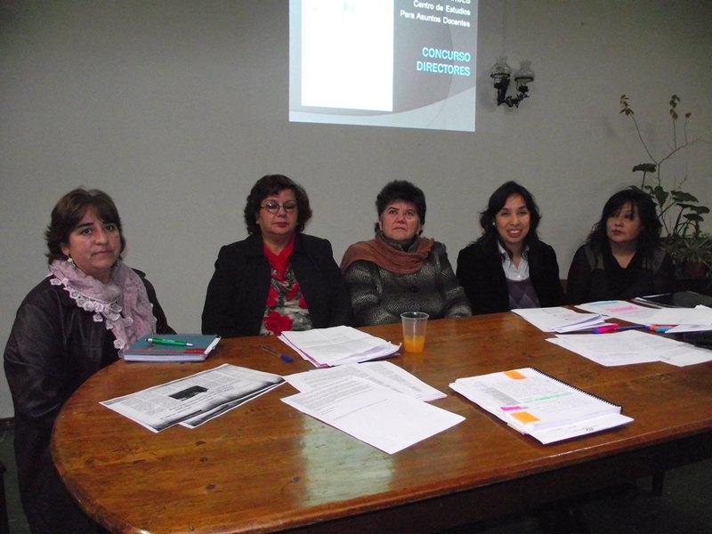 Andes on line colegio de profesores se sum a la for Concurso para profesores