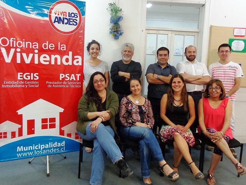 Andes on line m s de 500 subsidios se adjudic oficina de la vivienda de la municipalidad de - Oficina municipal del taxi ...