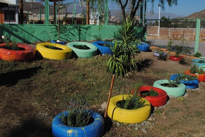 Andes on line | Habilitan patio de juegos para niños de Jardín ...