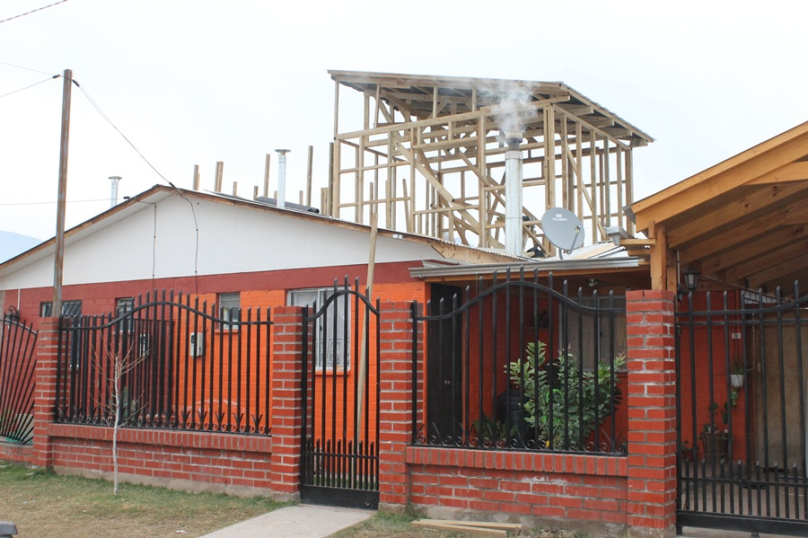 Andes on line m s de 140 familias fueron beneficiadas for Como hacer una piscina en un segundo piso
